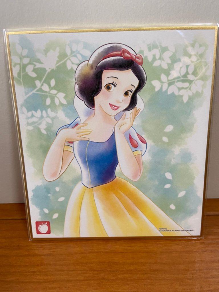 美しすぎる ディズニー 色紙ART 白雪姫