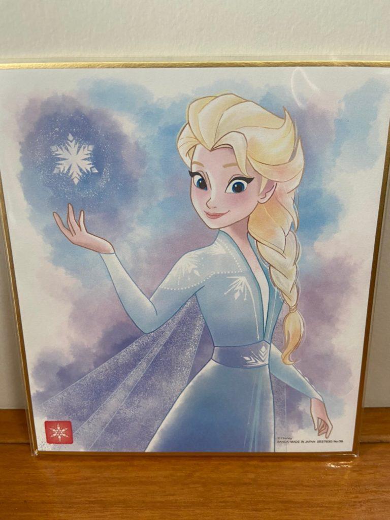 美しすぎる ディズニー 色紙ART エルサ