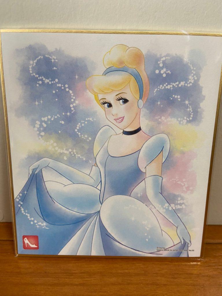 美しすぎる ディズニー 色紙ART シンデレラ