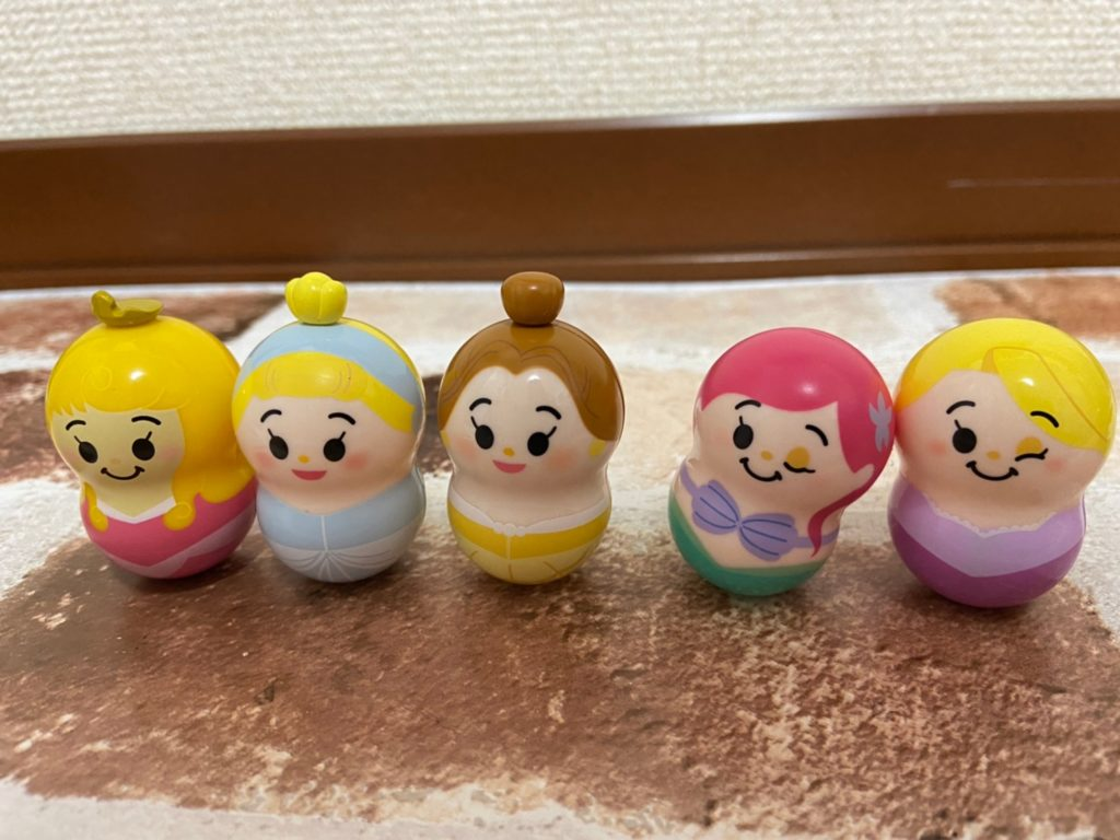 あのクーナッツからディズニープリンセスが登場!!(1BOX開封結果)