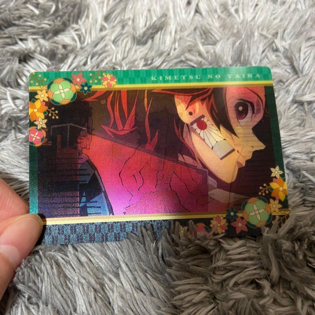 鬼滅の刃カード付きチョコスナック2