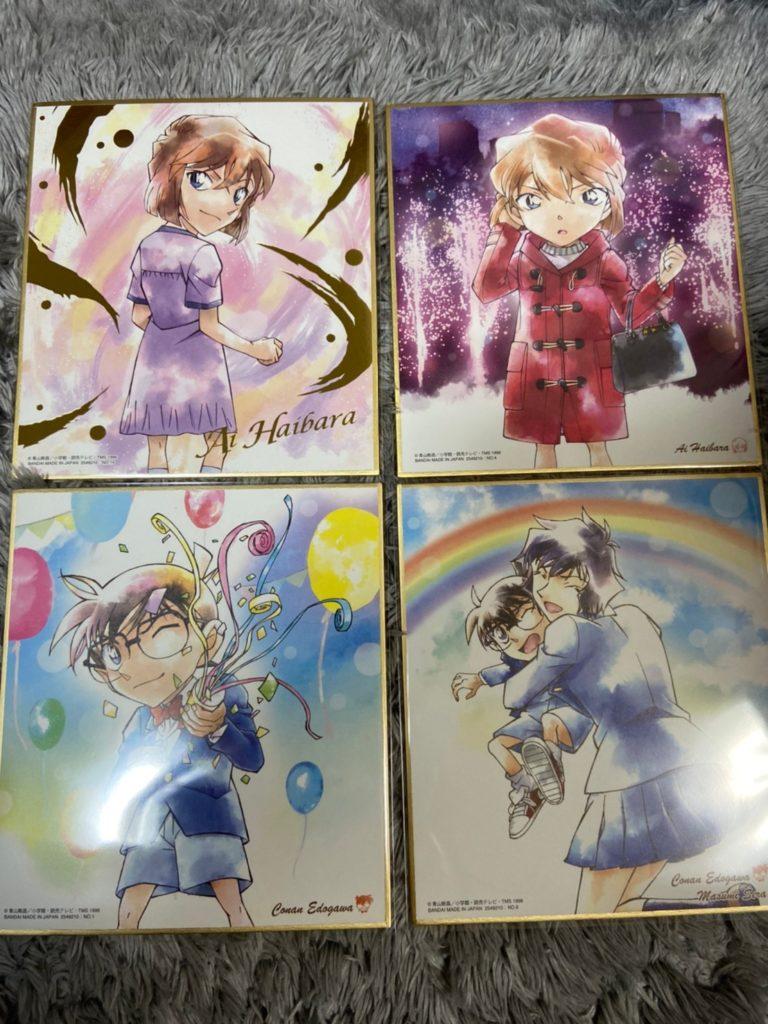 冬仕様のデザインが美しい!名探偵コナン色紙ART5!!