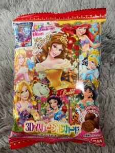 ディズニープリンセス3Dイリュージョンカード チョコスナック